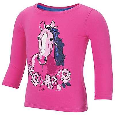 Carhartt Girls' Raspberry Run For The Roses T-Shirt - front