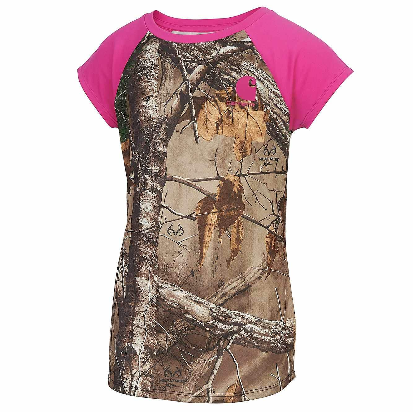 Picture of Carhartt Force® Pink Camo Tank in Realtree Xtra