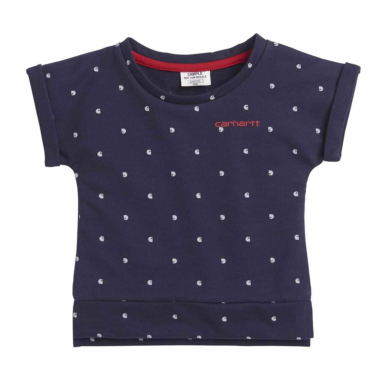 Picture of Printed C Top in Navy