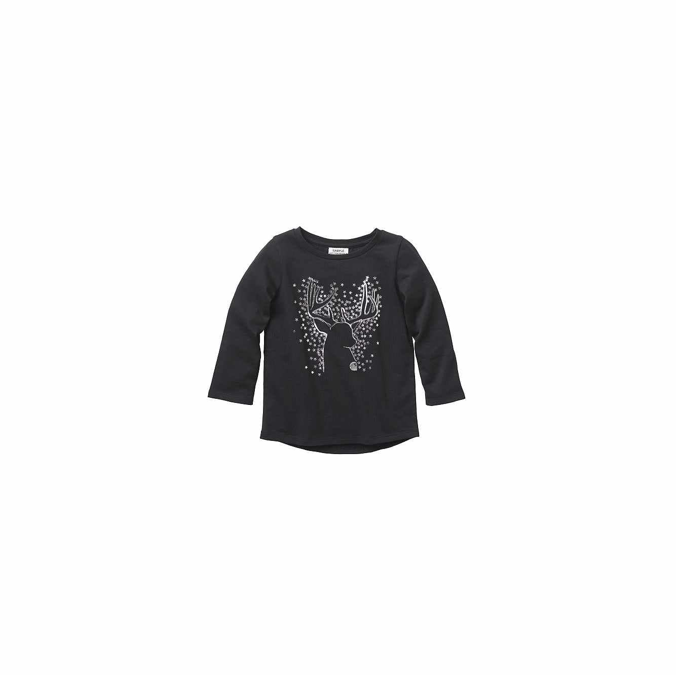 Picture of Deer T-shirt in Black Heather