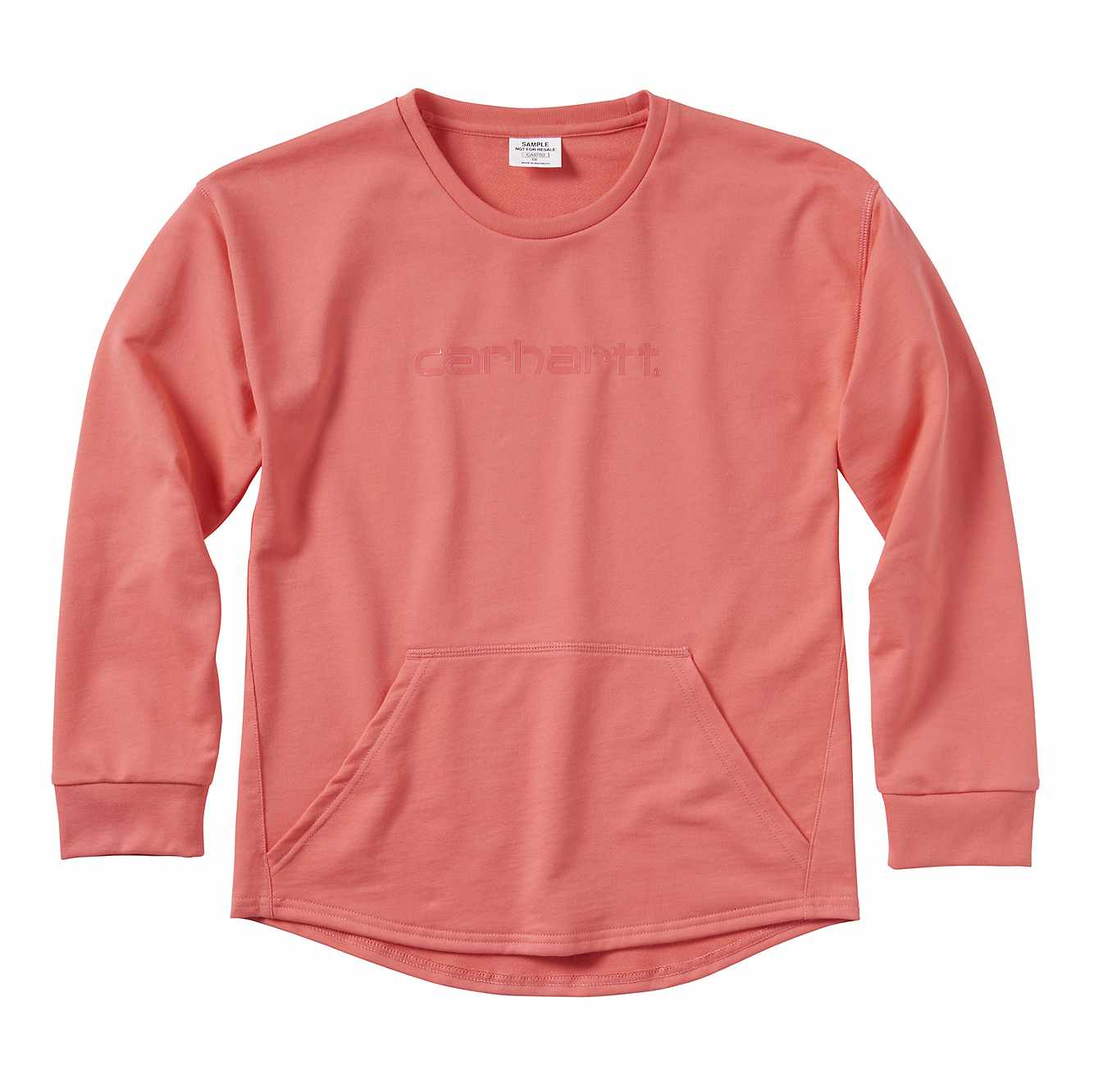 Picture of French Terry Sweatshirt in Calypso Coral