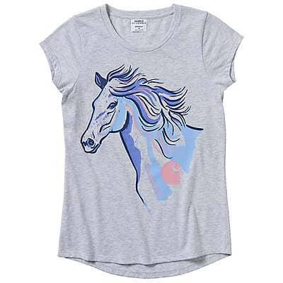 Carhartt Kid's Ash Heather Run Wild & Free T-Shirt