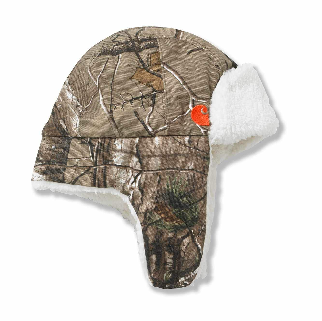 Picture of Camo Bubba Hat Sherpa-Lined in Realtree Xtra