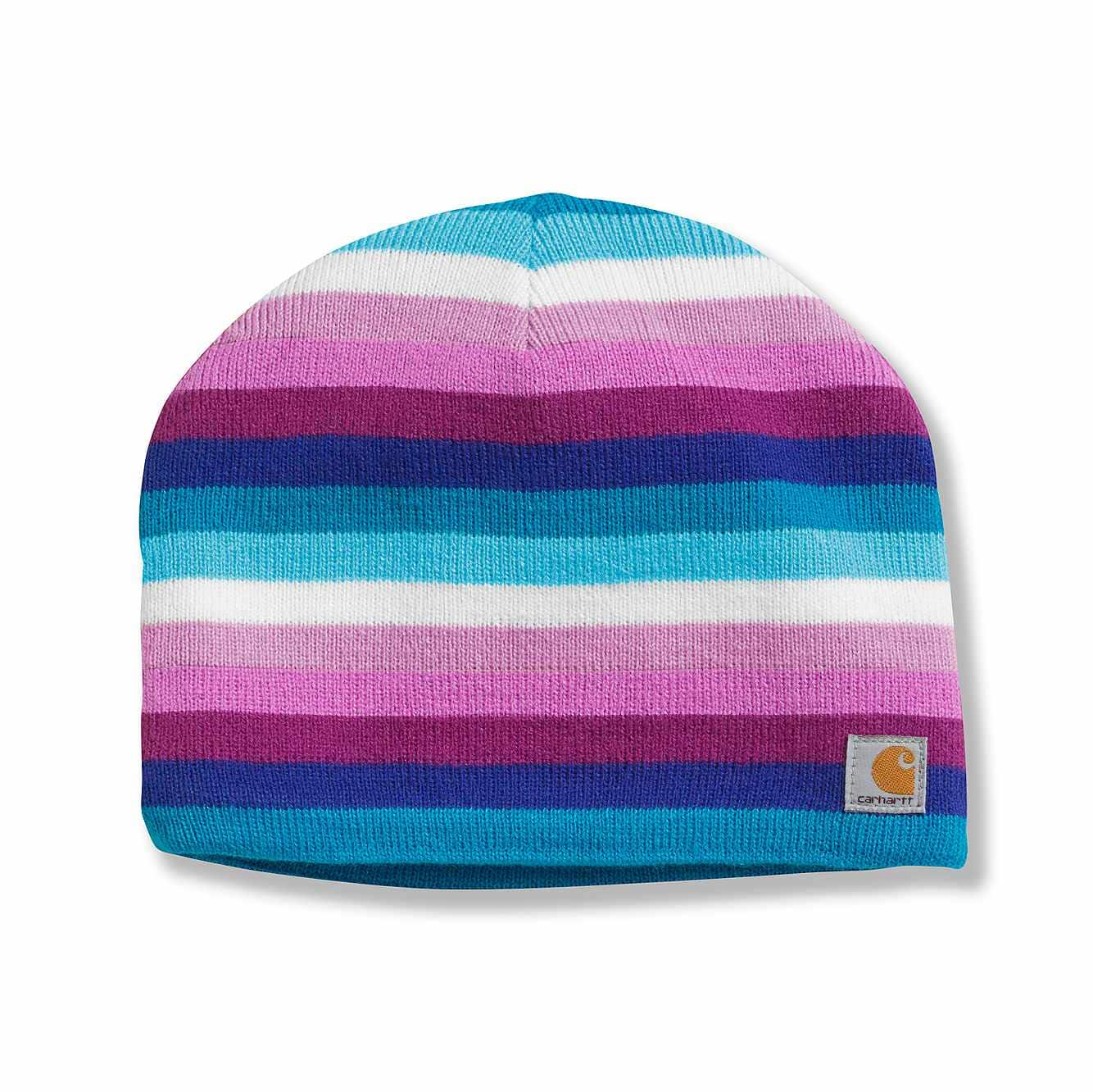 Picture of Multi Stripe Hat in Rose Bloom