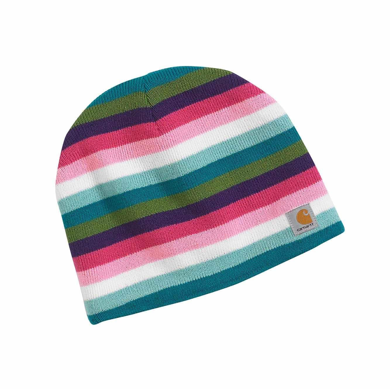 Picture of Multi Stripe Hat in Rose Bloom