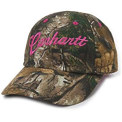 Carhartt Girls' Realtree Xtra Realtree Xtra® Duck Cap - front
