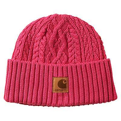 Carhartt Girls' Fuschia Purple Plated Fisherman Hat - front
