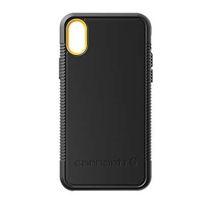 Carhartt  Black Carhartt Bullnose Iphone X Case - front