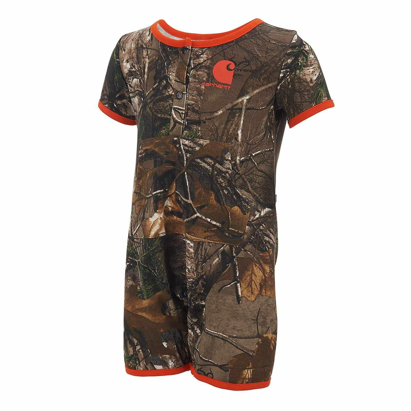 Picture of Infant/Toddler Camo Romper 2pc Gift Set in Realtree Xtra