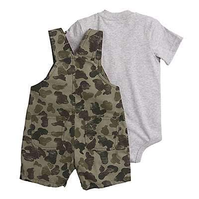 Carhartt  Green Camo Camo Shortall Set - back
