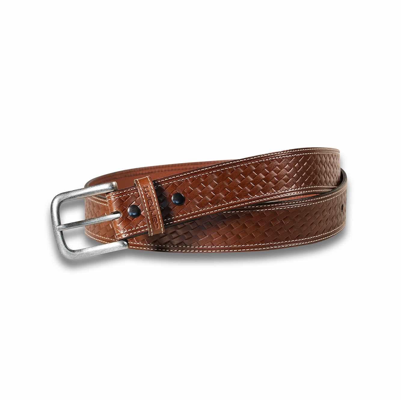 Picture of Basketweave Belt in Brown