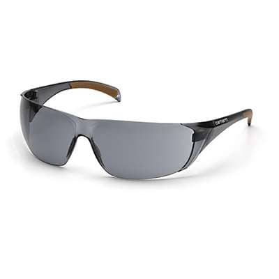 Carhartt Unisex Gray Billings Safety Glasses - front
