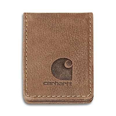 Carhartt Men's Carhartt Brown Pebble Money Clip - front