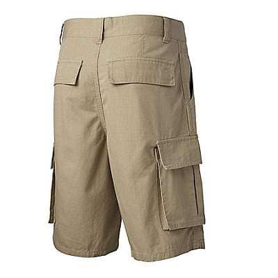 Carhartt Boys' Dark Khaki Ripstop Cargo Short - back
