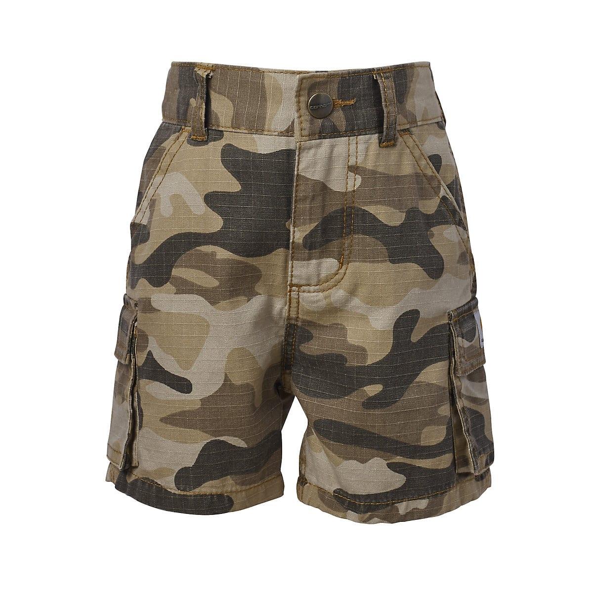 Helpful Size 4t Carhartt Camo Shorts Boys' Clothing (newborn-5t) Bottoms