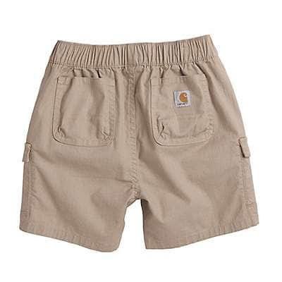 Carhartt Boys' Dark Tan Ripstop Cargo Short - back