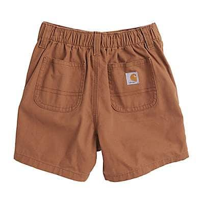 Carhartt Boys' Carhartt Brown Canvas Rigby Short - back