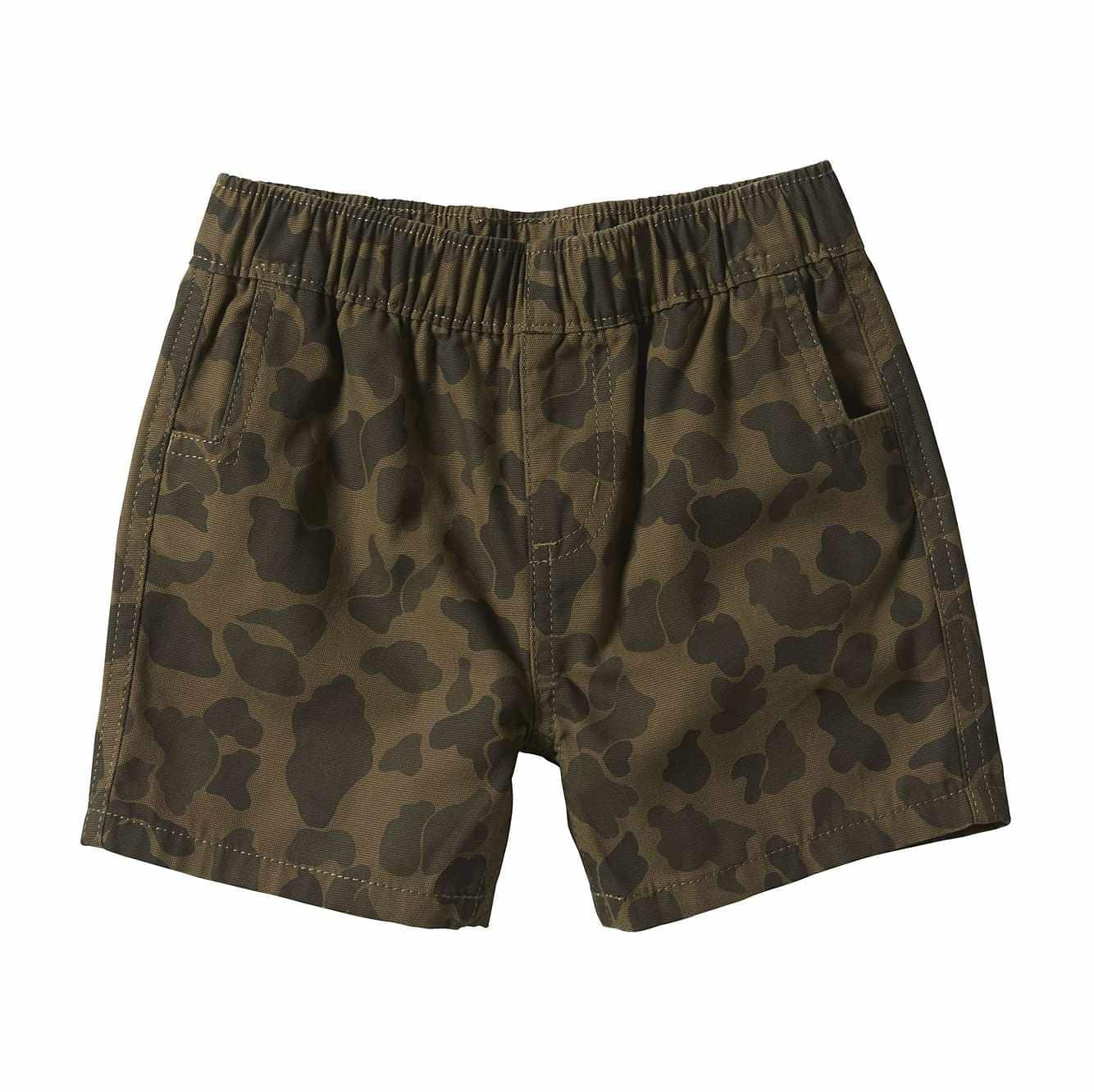 Picture of Camo Ripstop Short in Green Camo