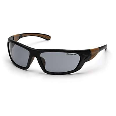 Carhartt Unisex Gray Carbondale Anti-Fog Safety Glasses - front