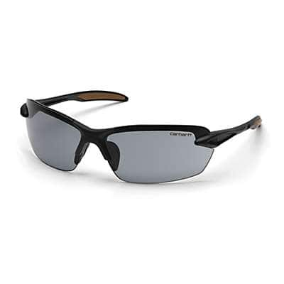 Carhartt  Gray Spokane Safety Glasses - front