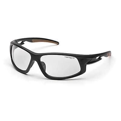 Carhartt Unisex Clear Ironside Safety Glasses with Anti Fog Lenses - front