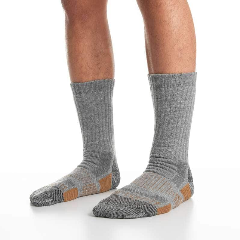Carhartt  Gray All-Terrain Boot Sock 2 Pack