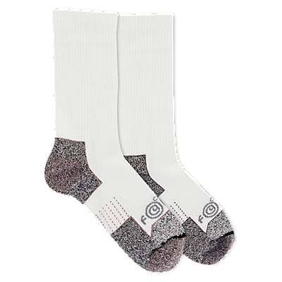Carhartt Women's White Carhartt Force® Performance Steel Toe Crew Sock 2 Pack