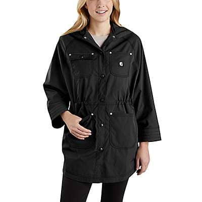Carhartt Women's Black Hurley x Carhartt Women's Jacket - front