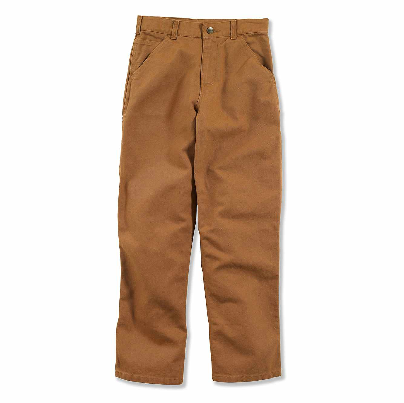 Picture of Canvas Dungaree Sizes 4-7 in Carhartt Brown