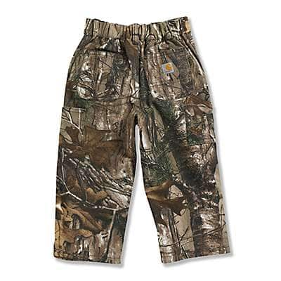 Carhartt Boys' Realtree Xtra Infant and Toddler Washed Camo Pant - back