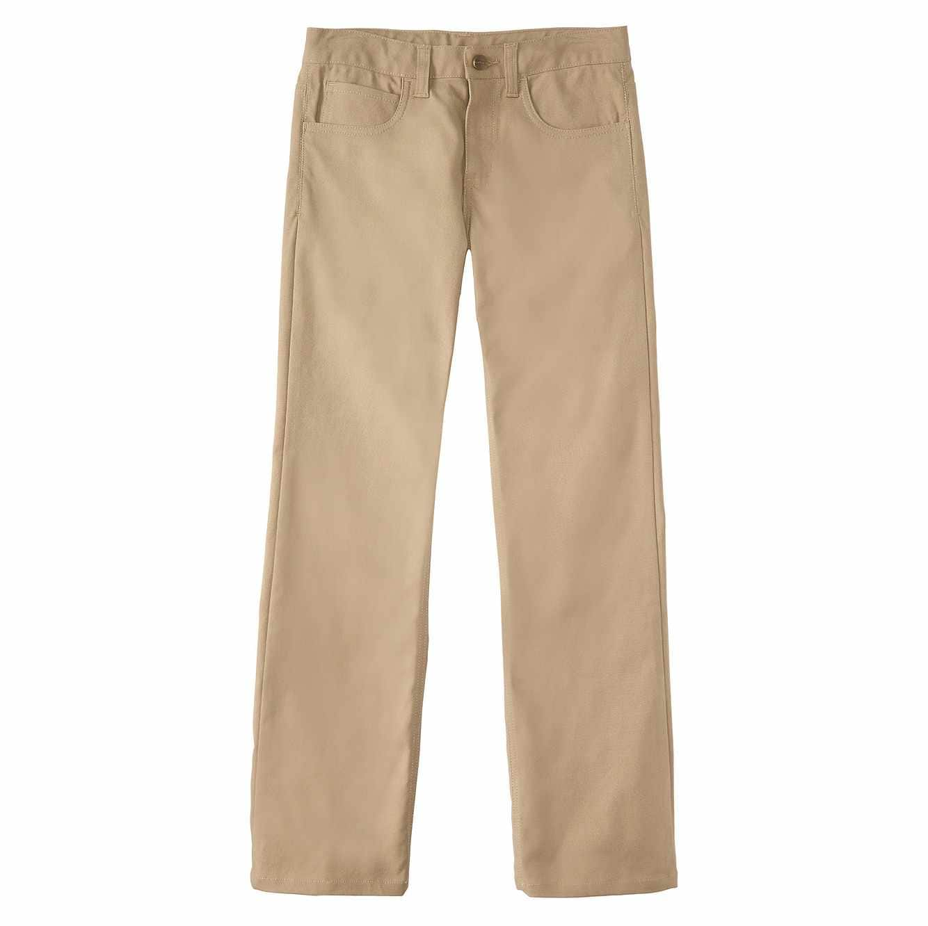 Picture of Canvas 5-Pocket Pant in Dark Tan