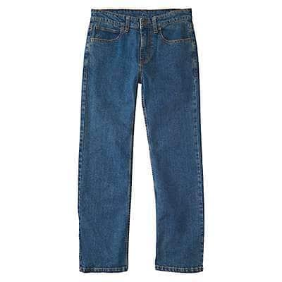Carhartt Kid's Denim Medium Wash Denim 5-Pocket Jean