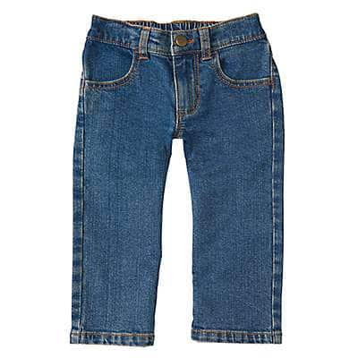 Carhartt Boys' Medium Wash Denim Pant - front