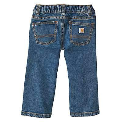 Carhartt Boys' Medium Wash Denim Pant - back