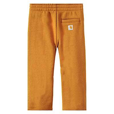 Carhartt Boys' Carhartt Brown Fleece Pant - back