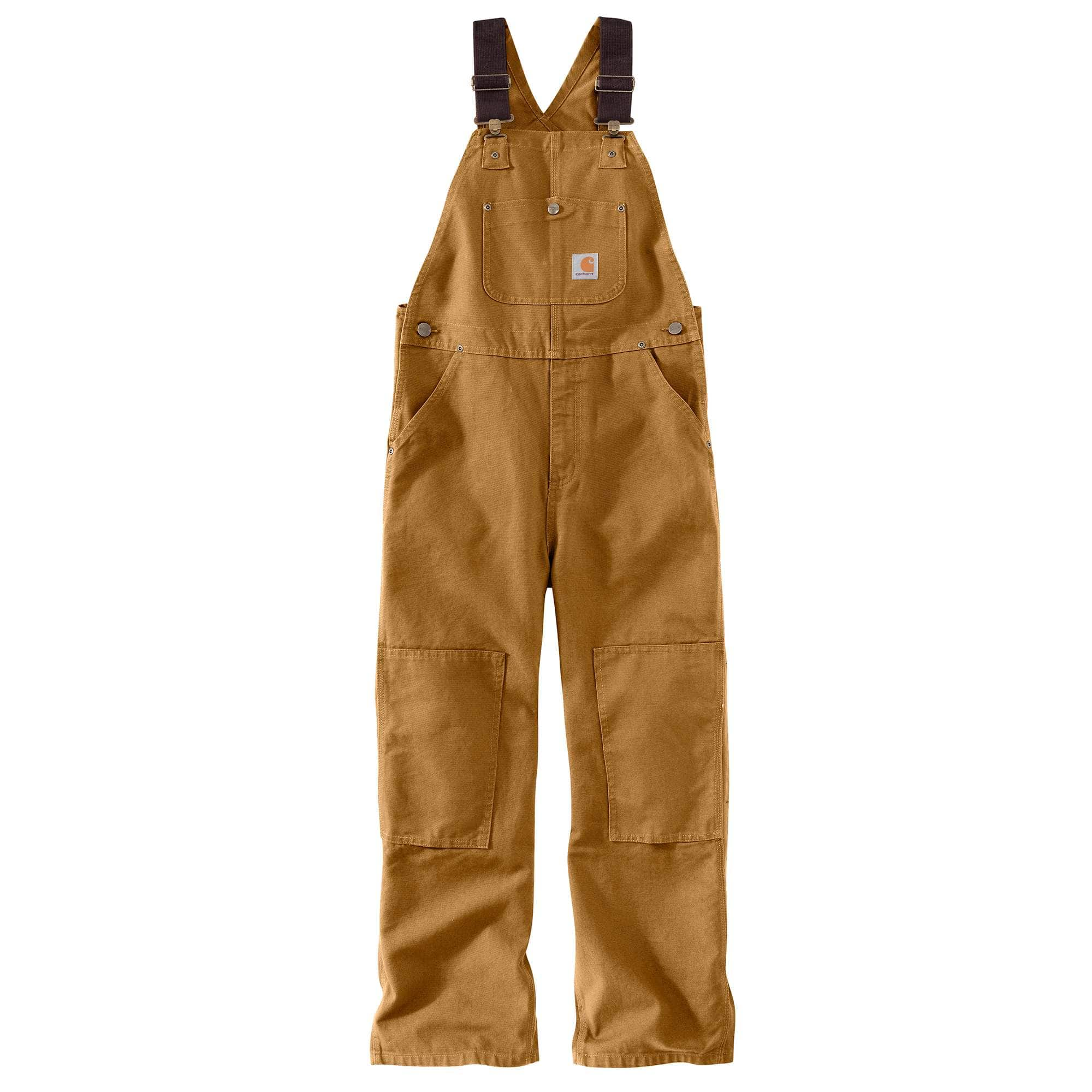 Carhartt Big Boys Washed Duck Bib Overall