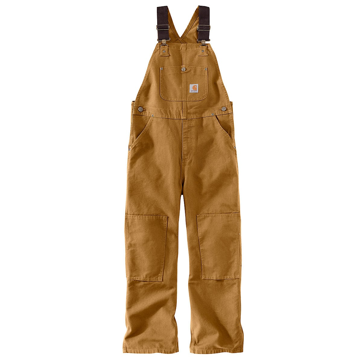 a02353c4992 Boys' Duck Washed Bib Overall Sizes 8-16 CM8601 | Carhartt