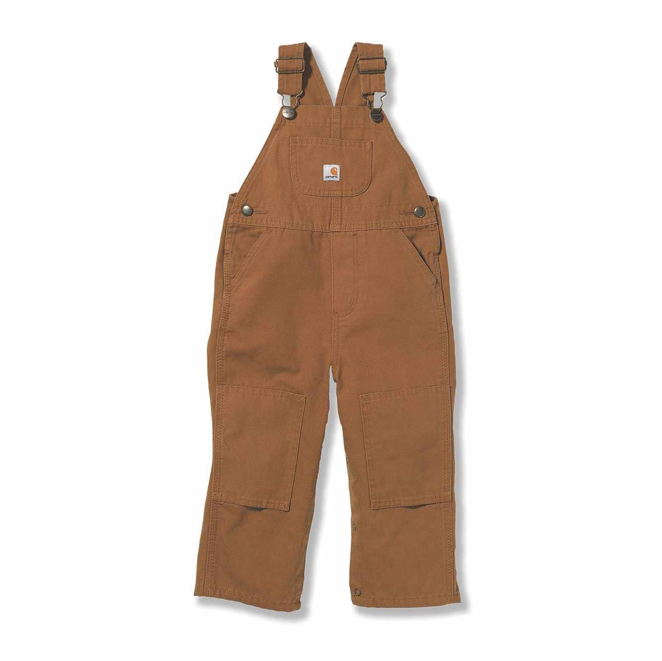 Picture of Canvas Bib Overall in Carhartt Brown