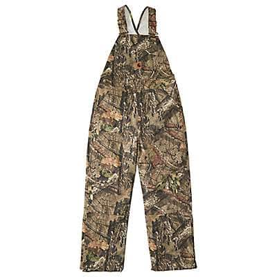 Carhartt Boys' Mossy Oak Mossy Oak® Camo Bib Overall Quilt-Lined - front