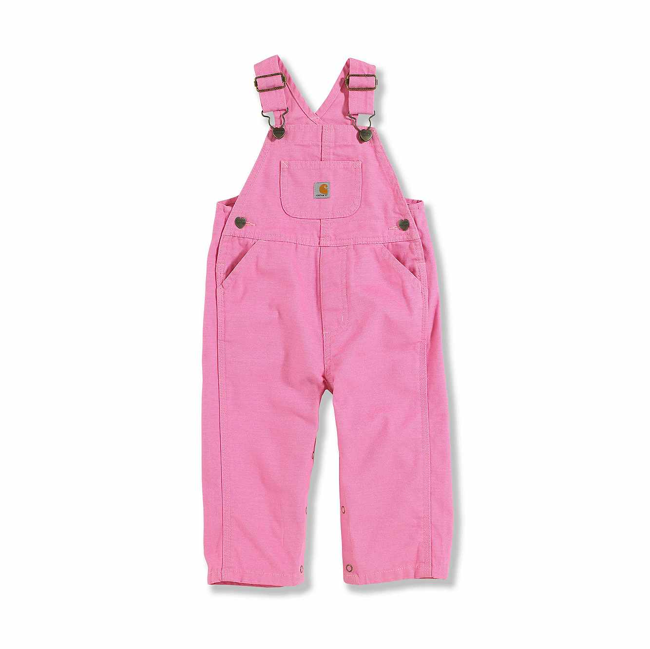 Picture of Canvas Bib Overall in Rose Bloom