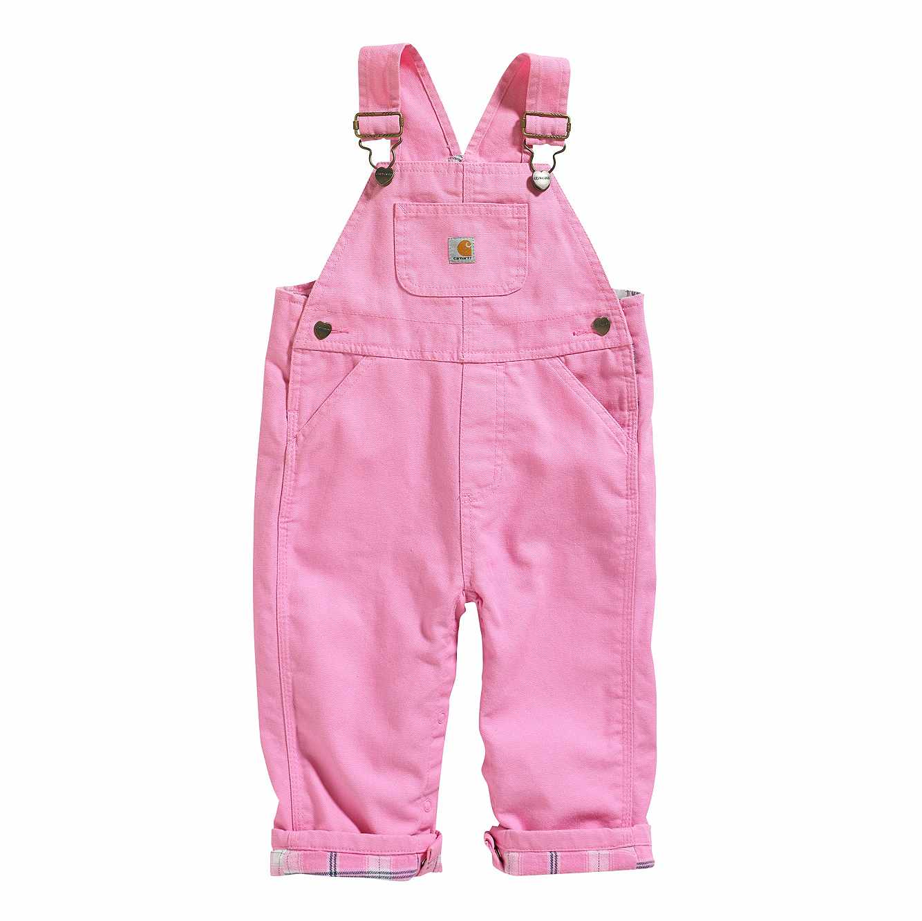 Picture of Canvas Overall Flannel-Lined in Rose Bloom