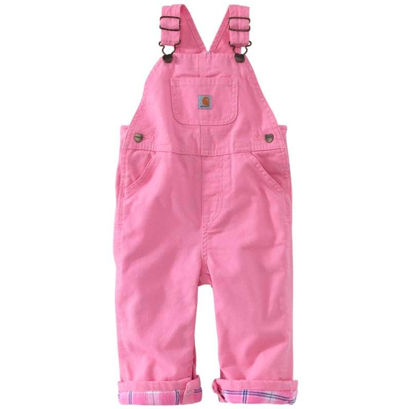 Carhartt  Rosebloom Canvas Overall Flannel-Lined