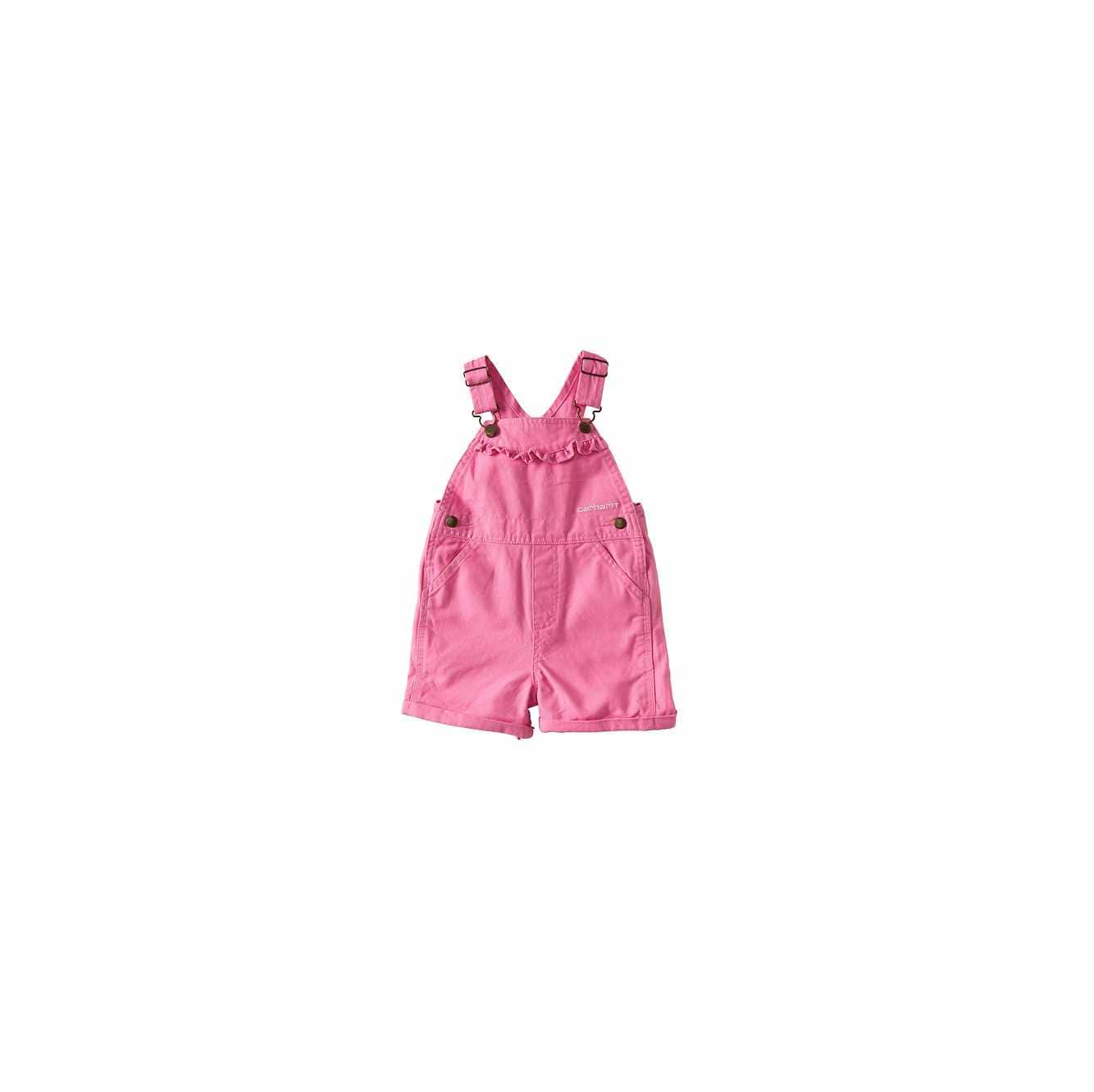 Picture of Canvas Bib Shortall in Rose Bloom