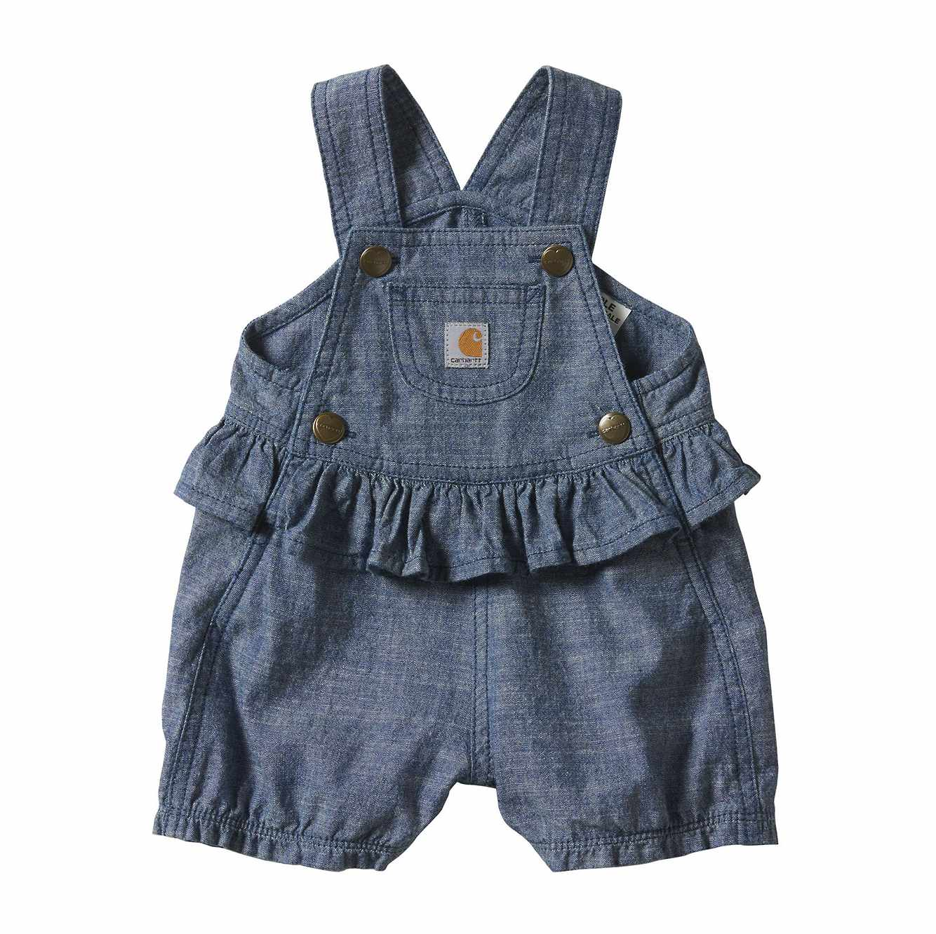 Picture of Chambray Shortall in Chambray