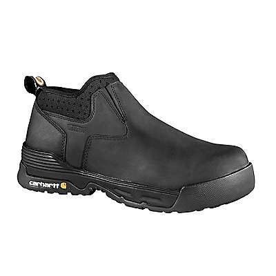 Carhartt Men's Black Carhartt Force® 4-Inch Composite Toe Slip On - front