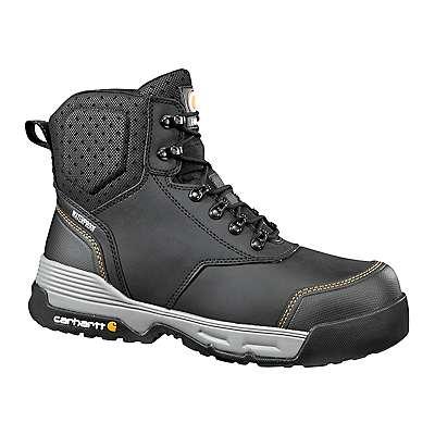 Carhartt Men's Black Carhartt Force® 6-Inch Composite Toe Work Boot - front