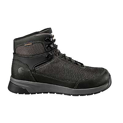 Carhartt Men's Black Carhartt Force® 6-Inch Nano Composite Toe Work Boot