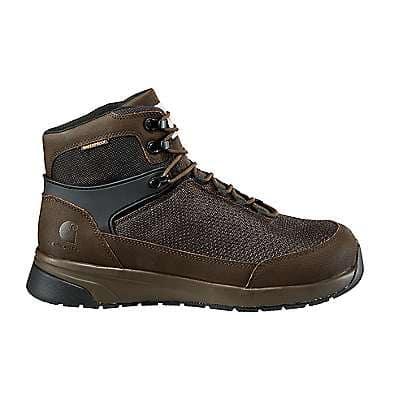 Carhartt Men's Espresso Carhartt Force® 6-Inch Nano Composite Toe Work Boot