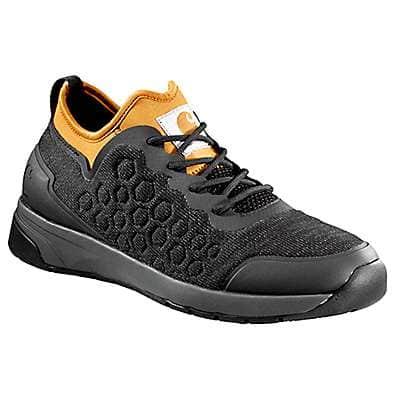 Carhartt Men's Black/Gold Carhartt Force® Non-Safety Toe Work Sneaker