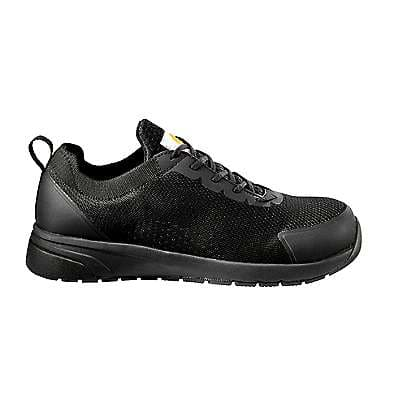 Carhartt Men's Black Carhartt Force® Nano Composite Toe Work Shoe